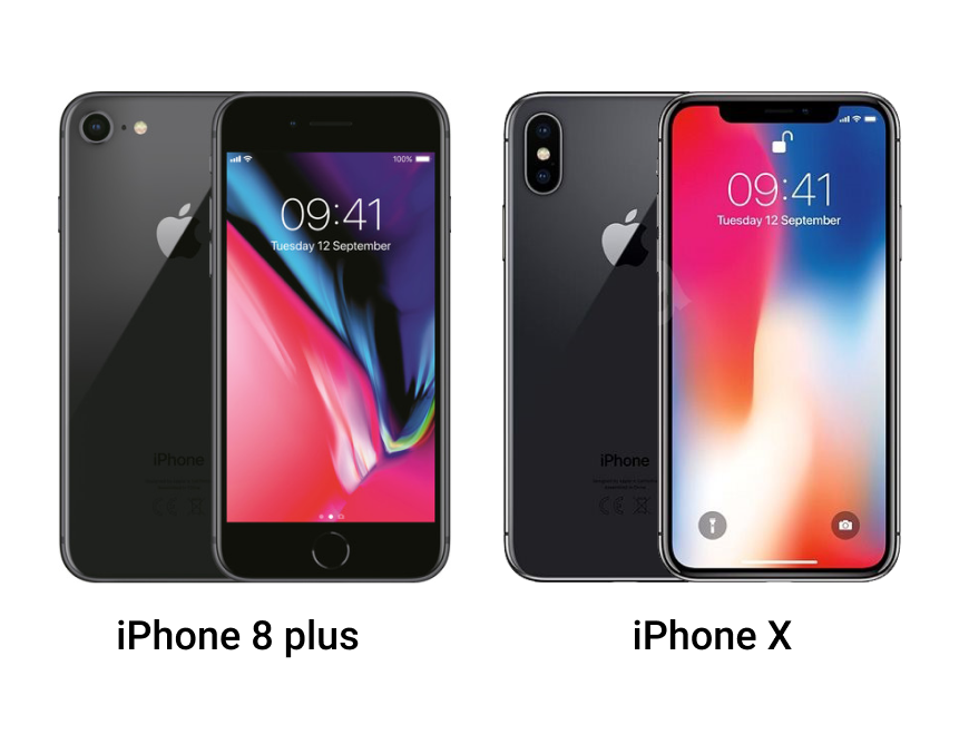Usporedba iPhone X i iPhone 8 plus